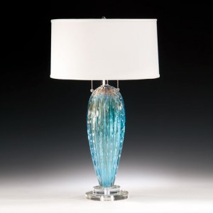 Venetian glass lamp Decorative Crafts