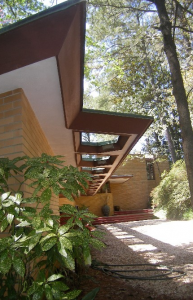 FLW Cooke House front entry