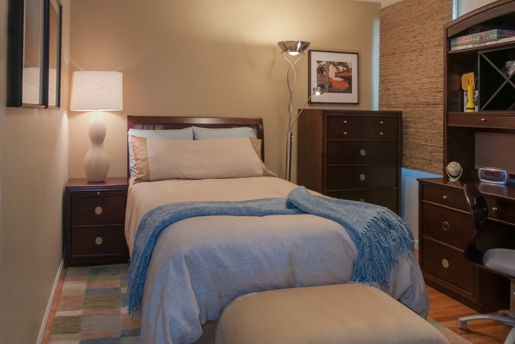 Inner Visions Interiors Belmont guest room